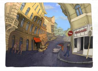 Warp Street 1. by yoolchie