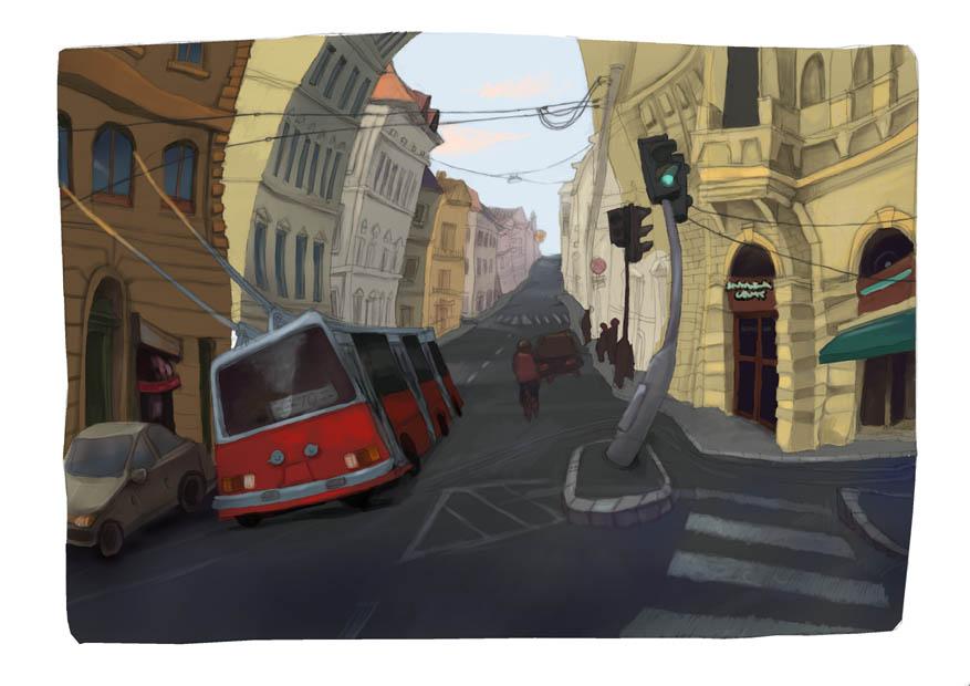 Warp Street 2. by yoolchie
