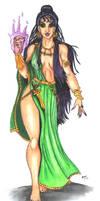 Wonder Woman's Circe sketch