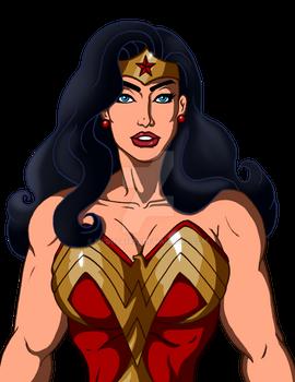 Pop Wonder Woman Standard A Colored lines