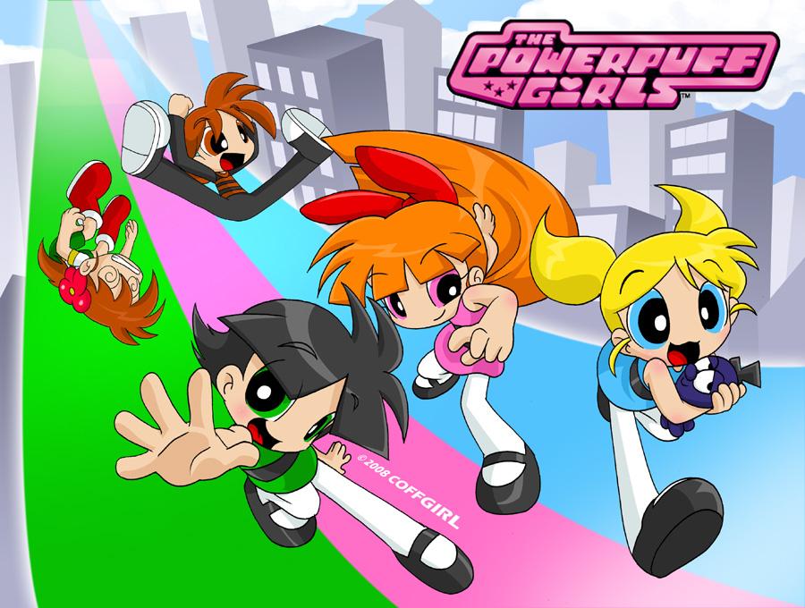The Powerpuff Girls CF 2007 by Coffgirl on DeviantArt