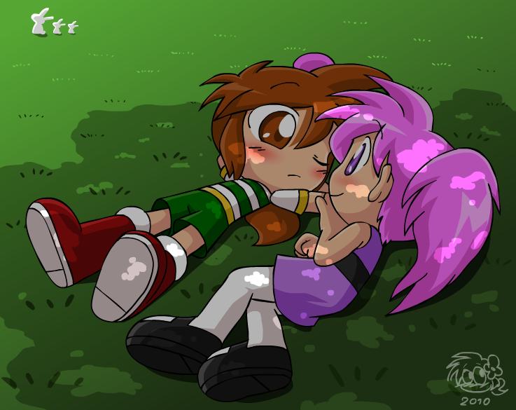 Flowerpuff Moment by Coffgirl