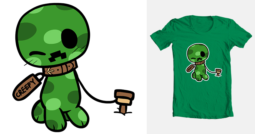 Go Back > Gallery For > Cute Creeper Wallpaper
