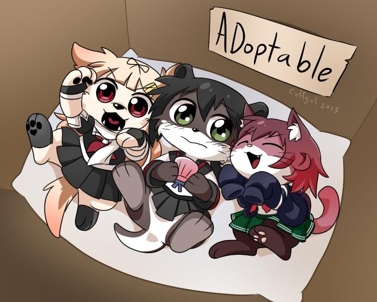 Adoptable by Coffgirl