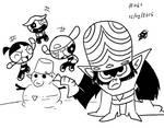 Mojojojo and his kids