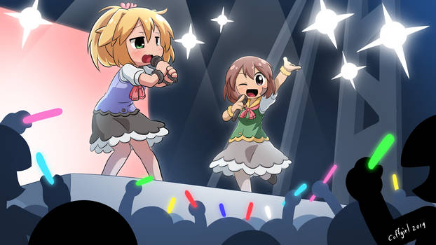 Cuties on Stage