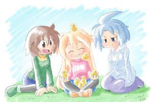 Commission Sora's ducks