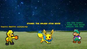 Starry The Golden Star Eevee