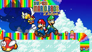 Super Mario Bros DX (1999)   Back to the Past #13