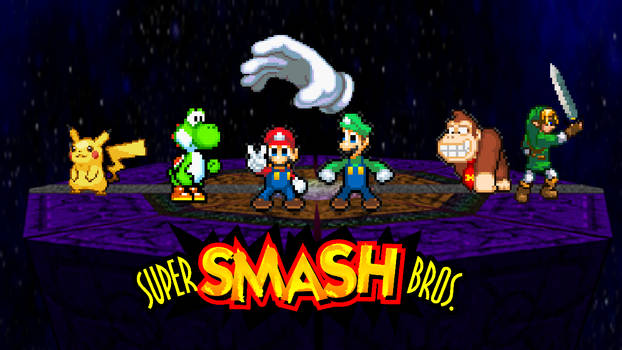 Super Smash Bros   Back to the Past Spinoff #15