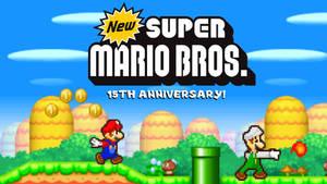 New Super Mario Bros 15TH ANNIVERSARY!