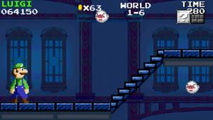 Super Mario Bros Mania World 1-6