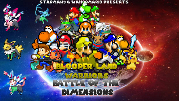 Blooper Land Battle of the Dimensions Cover