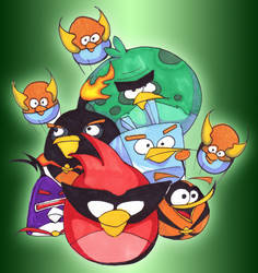 Angry Birds Collection #2 by TimeSorceror