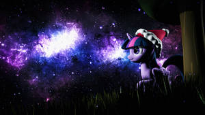 [SFM Ponies]Purple Star Sky Night