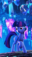 [SFM Ponies]Purple Crystal by RadiativeSpinGear