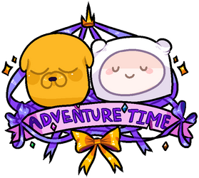 Adventure Time Sticker by SleepyPokee