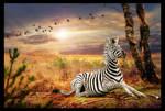 Even beauty has stripes.