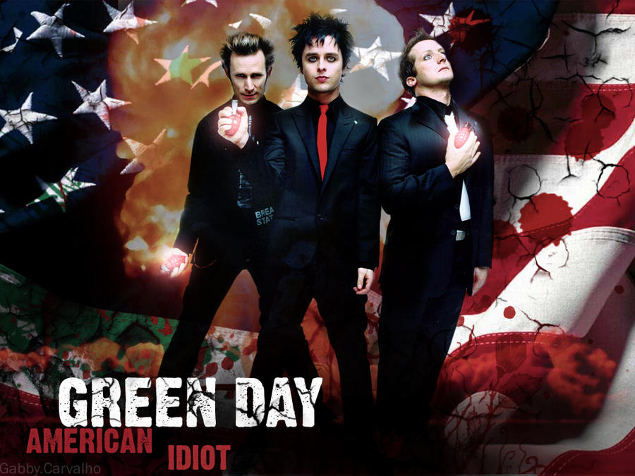 Green Day - American Idiot by GabbyCarvalho