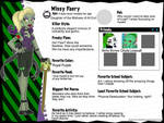 Monster High OC Sheet - Missy