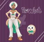 Rowlet Pinup