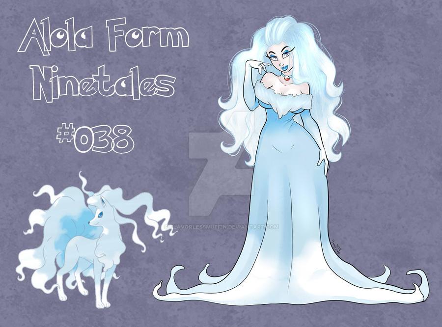 Alola Form Ninetales Pinup by FlavorlessMuffin on DeviantArt