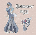 Glameow Pinup by FlavorlessMuffin