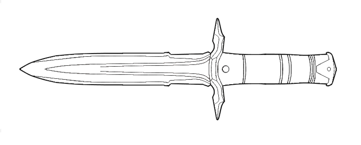iron dagger lineart by andrewbig on deviantart scroll clipart free scrolls clip art free