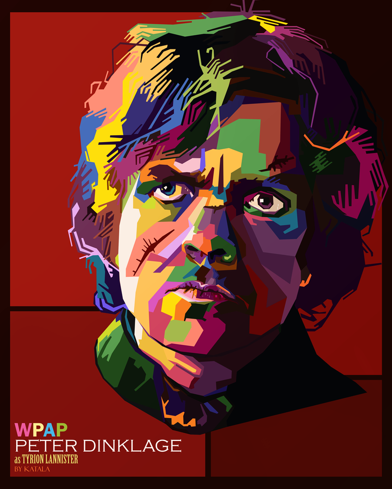 Tyrion Lannister WPAP by Katala