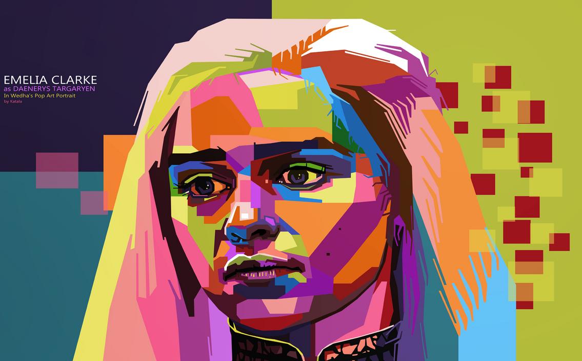 Khaleesi WPAP by Katala