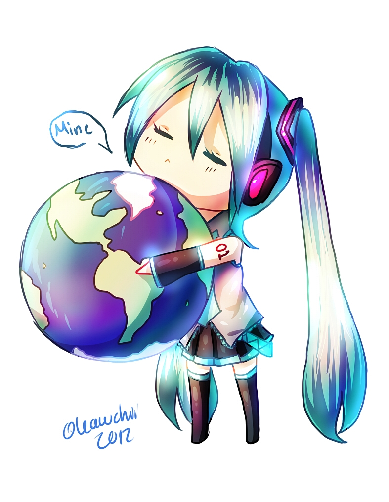 World is Miku's by Kawchii