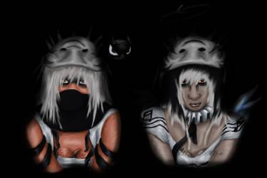Dark Females by roseankitty