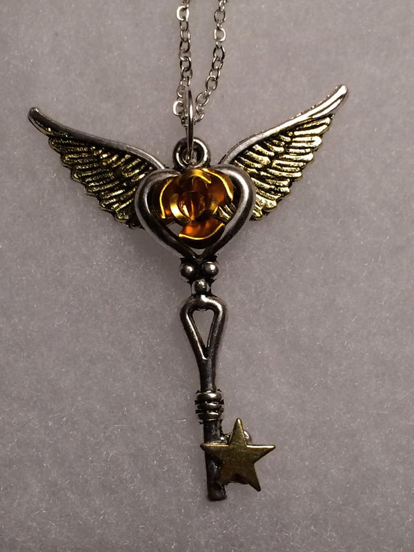 Wishing Star Key by AzenaKira
