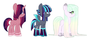 [Poni Adopts] [Closed] {Price Lowered} by Kittii-Kat