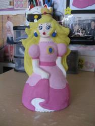 princess peach sculpture 1