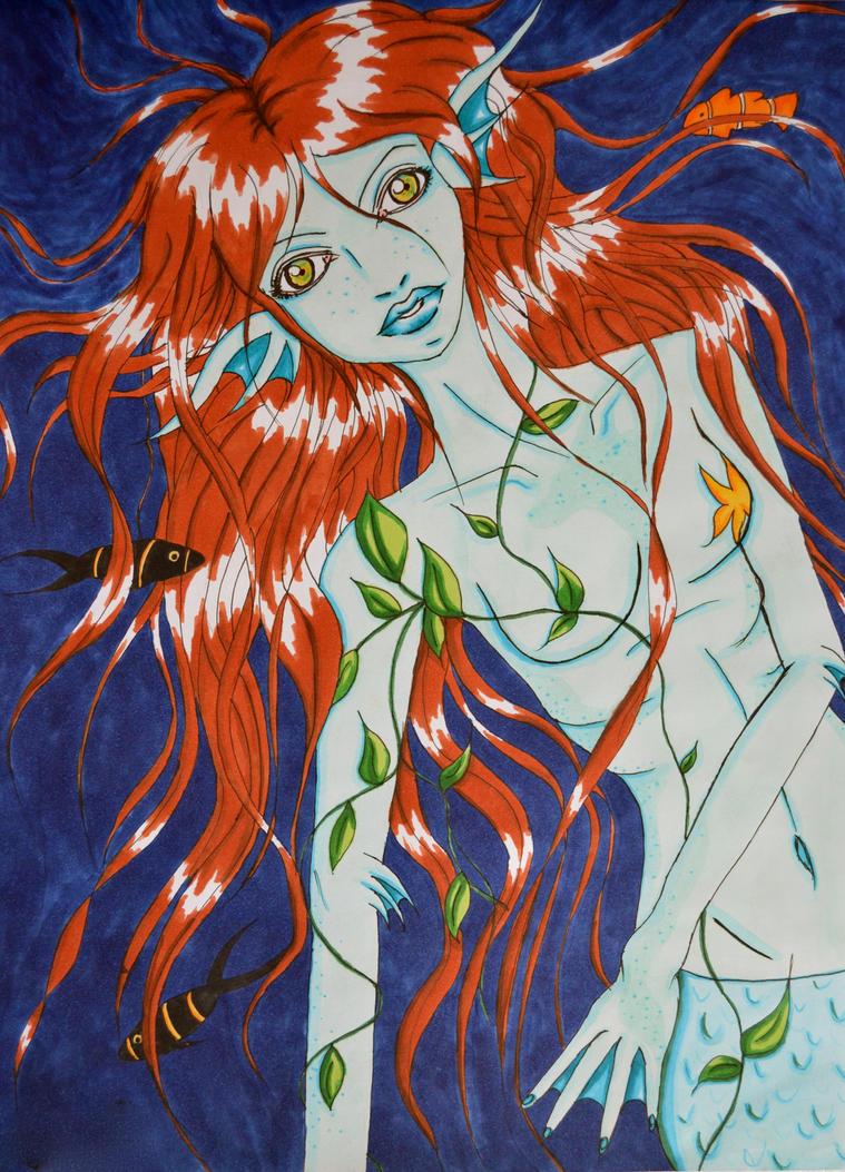 Fischfrau by Lariposa