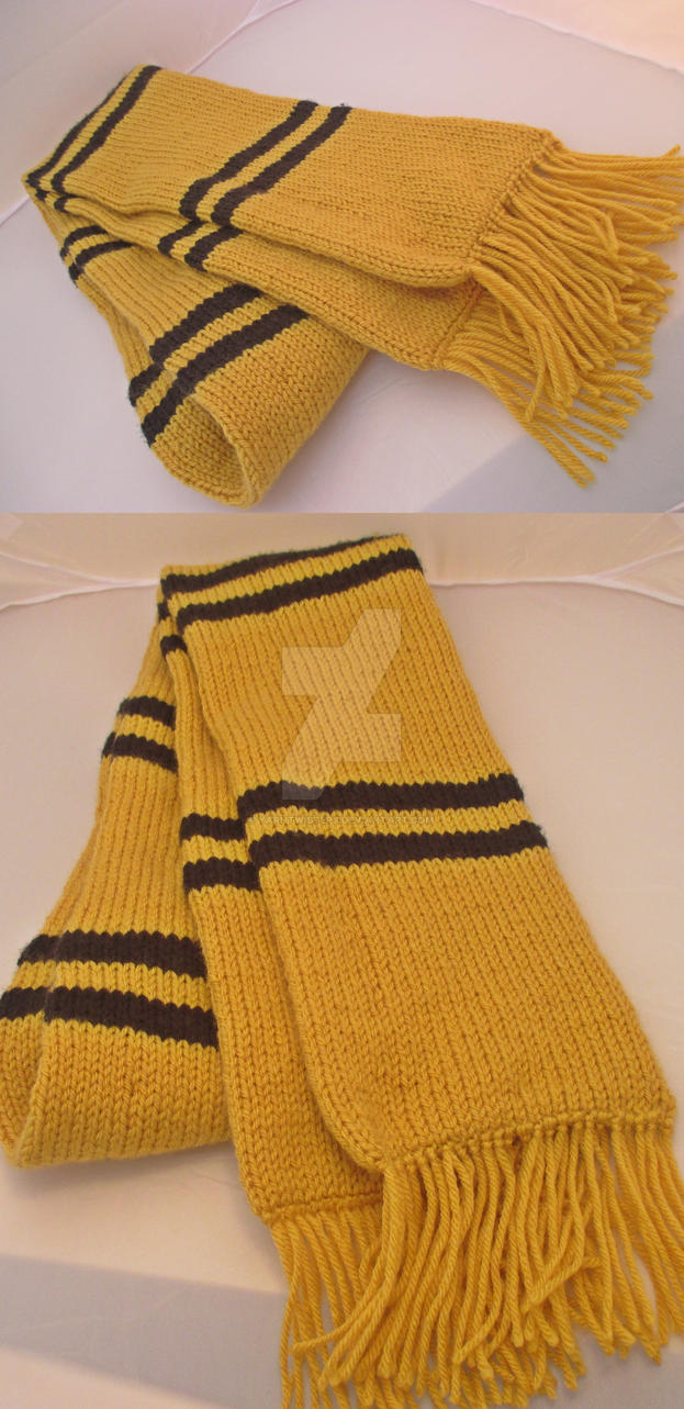Hufflepuff Scarf By Yarntwisters On Deviantart