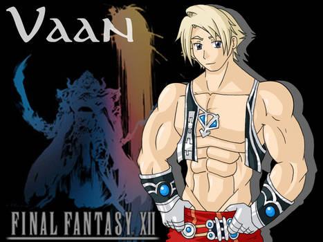 FFXII: Muscle Boy Vaan