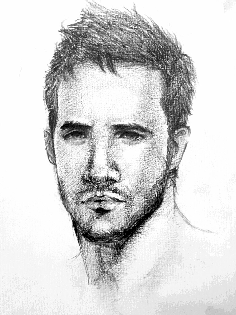 Man drawing by namitokiwa