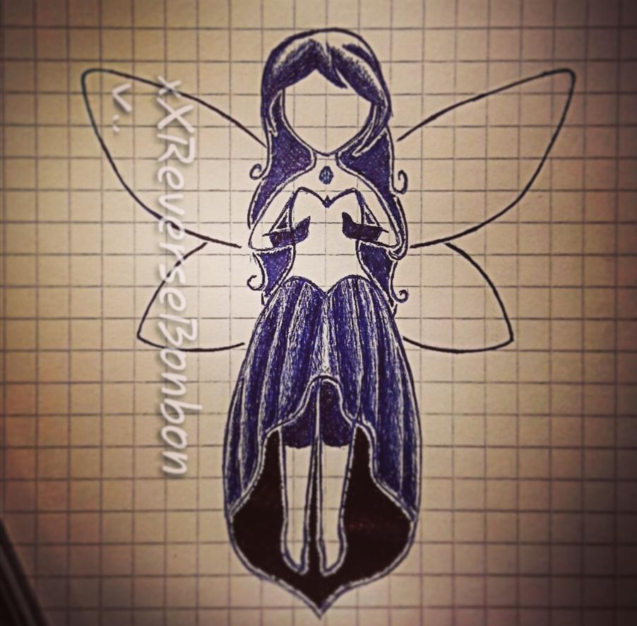 A fairy(? by xXReverseBonbonXx