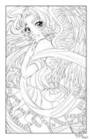 Cutie Angel Gwendolyn by SeraphicMayin