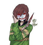 Chara [ Sally Face AU ]