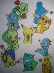 Cute Pokemon Starters