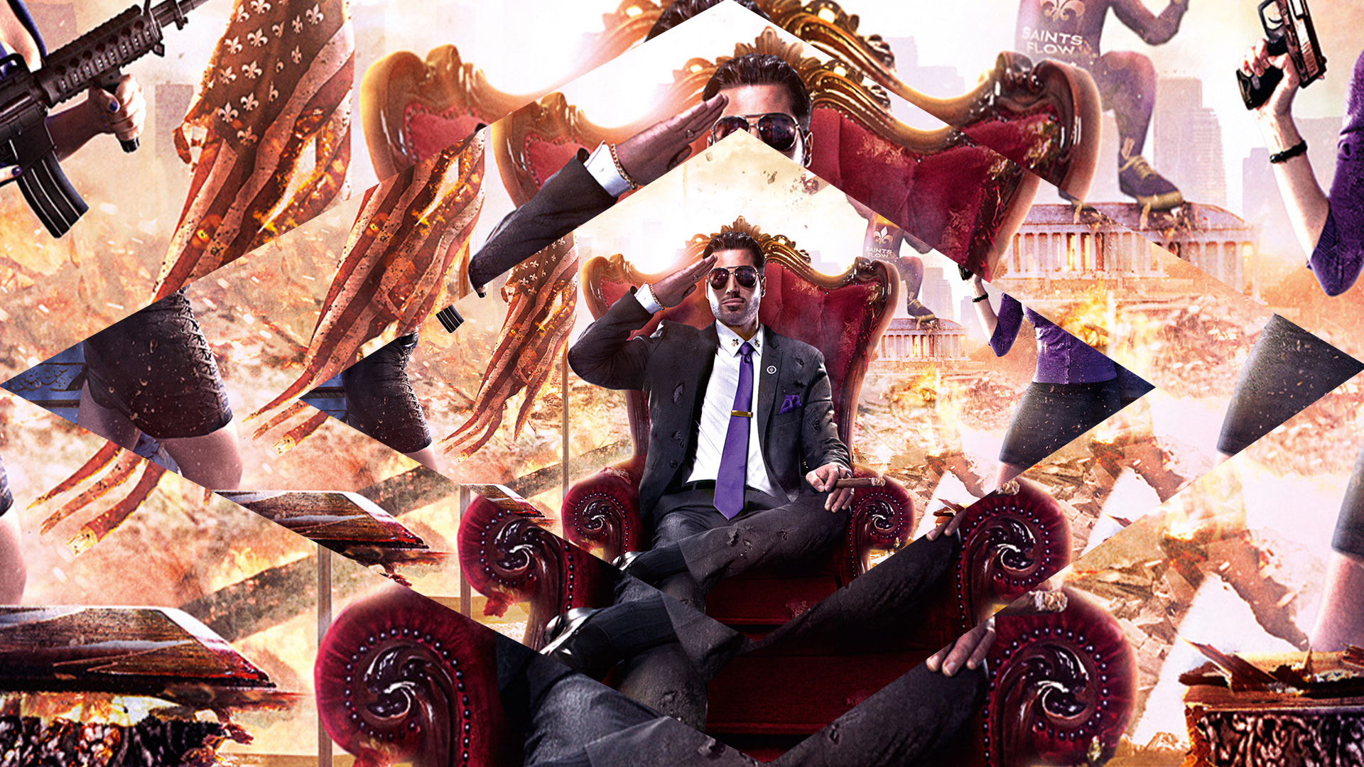 Saints Row Iv Wallpaper By Dinamito3000 On Deviantart