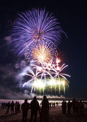 Fireworks on the Pier