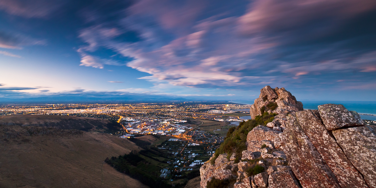 Christchurch Twilight by Niv24