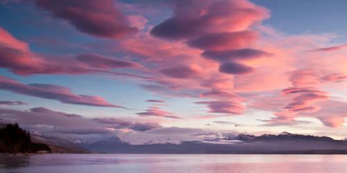Lenticular Clouds Sunrise