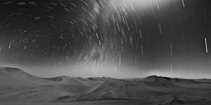 Trails over the Desert