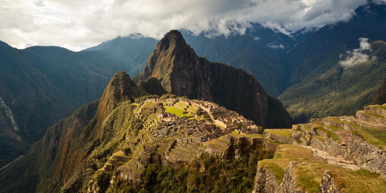 Magestic Machu Picchu by Niv24