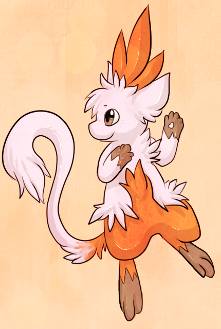 Mew+Combusken Fusion [closed] by Skeletpengu